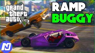 GTA 5 - Thử sức các siêu xe dị mới và đi quậy phá trên cao tốc bằng xe Ramp Buggy | ND Gaming
