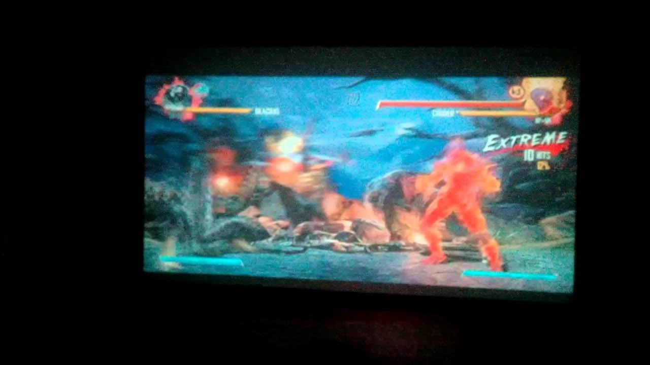 HD Projector Showing Killer Instinct On A 92 Inch Screen