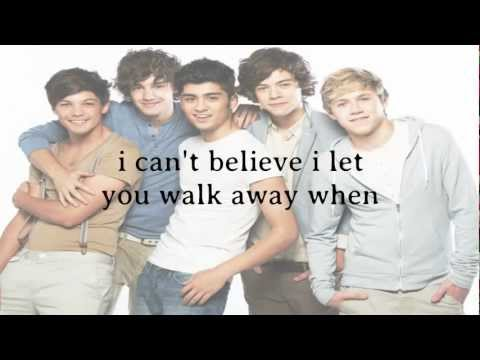 One Direction - I Should've Kissed You ( Lyrics + Pictures )