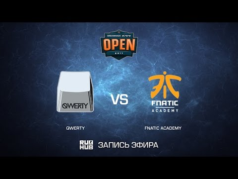 qwerty vs fnatic academy - DreamHack ASTRO Open Leipzig - map1 - de_cache [CrystalMay, Enkanis]