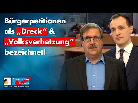 """Bürgerpetitionen als """"Dreck"""" & """"Volksverhetzung"""" bezeichnet! - Demokratieverständnis der Altparteien"""