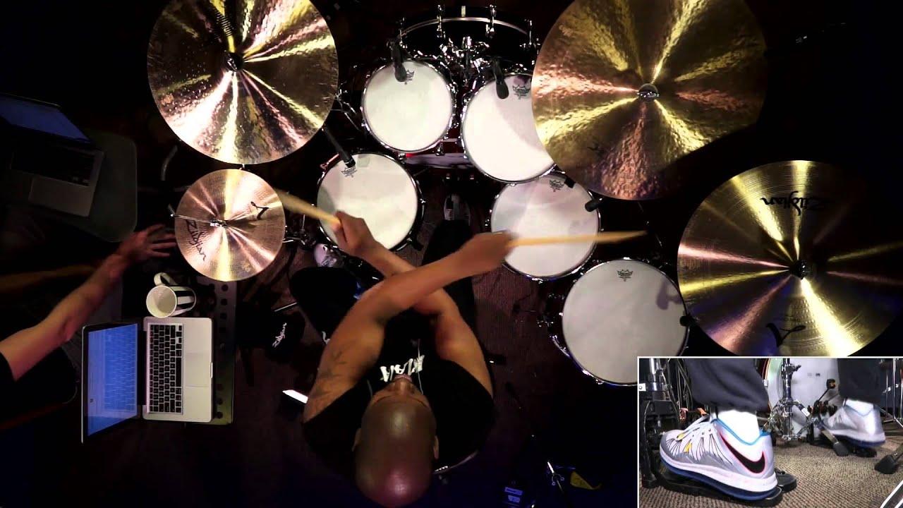John Blackwell - Drumming Discipline & Improvisation (FULL DRUM LESSON)