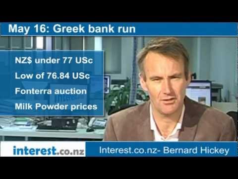 90 seconds at 9 am:Greek bank run (news with Bernard Hickey)