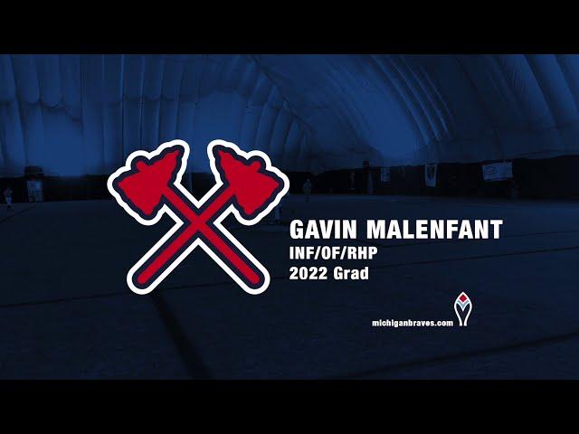 Michigan Braves Showcase 2020 Gavin Malenfant