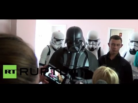 Ukraine: Darth Vader refused right to vote