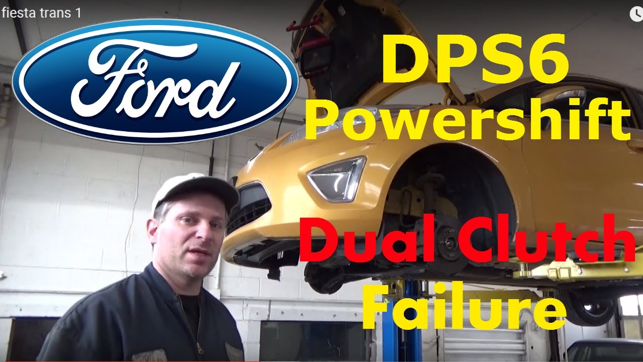 2011 Ford Fiesta Dps6 Powershift Transmission Slipping