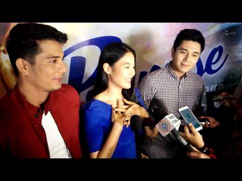 Ritz Azul, Paulo Avelino, Ejay Falcon #ThePromiseofForever Interview
