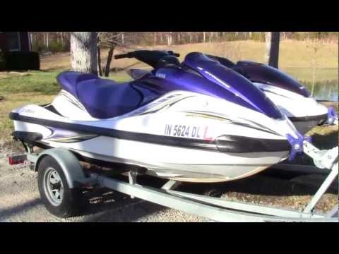 2005 Yamaha FX Wave Runner 4 Stroke Jet Ski Walk Around