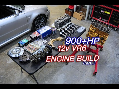 900+HP 12v VR6 Engine Build  pt.1