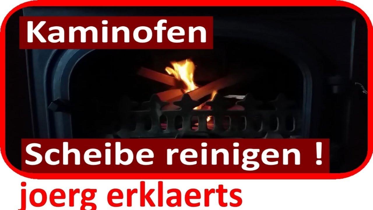 Gut gemocht Kaminofen Kamin Ofen Scheibe reinigen in 1 Minute Lifehack Vol.39 WC61