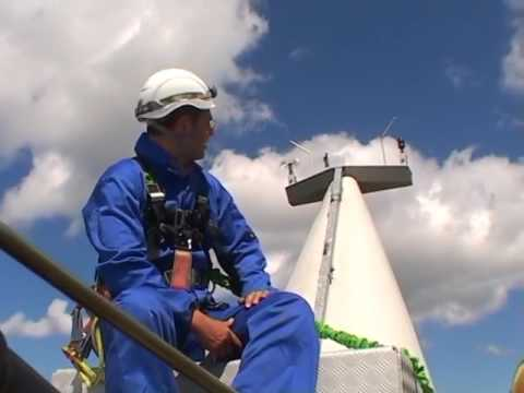 Safety is Paramount When Working in Wind Turbines
