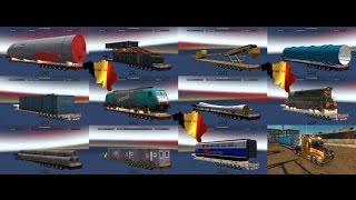 Негабаритные прицепы в Euro Truck Simulator 2