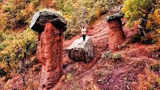 Дикий Шторм в Крыму. КАМЕННЫЕ ГРИБЫ в долины Сотера - исчезающее Чудо КРЫМА.
