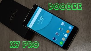 doogee X7 Pro - адекватная цена, впечатления