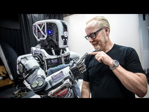 Behind The Scenes Of Weta Workshop's 'I Am Mother' Robot!
