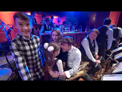 RUDOLFINUM Vojtěch Dyk & B-SIDE BAND, bandleader Josef Buchta