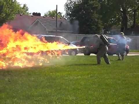 Military grade Flamethrower!