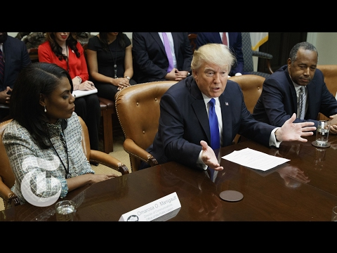 President Donald Trump's Remarks for Black History Month | The New York Times