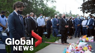 Calls to action at vigil held for London, Ont. family killed in anti-Muslim attack | FULL