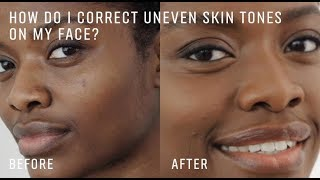 ASK A PRO ARTIST: How to Match and Apply Foundation to Correct Uneven Skin Tone and Discoloration