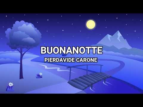 Buonanotte - Pierdavide Carone (Lyrics/Testo)