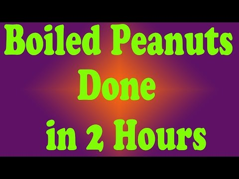 How to Boil Peanuts Using a Pressure Cooker