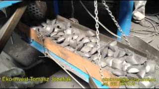 BRYKIECIARKA - PRASA WALCOWA. Brykietowanie materiałów sypkich