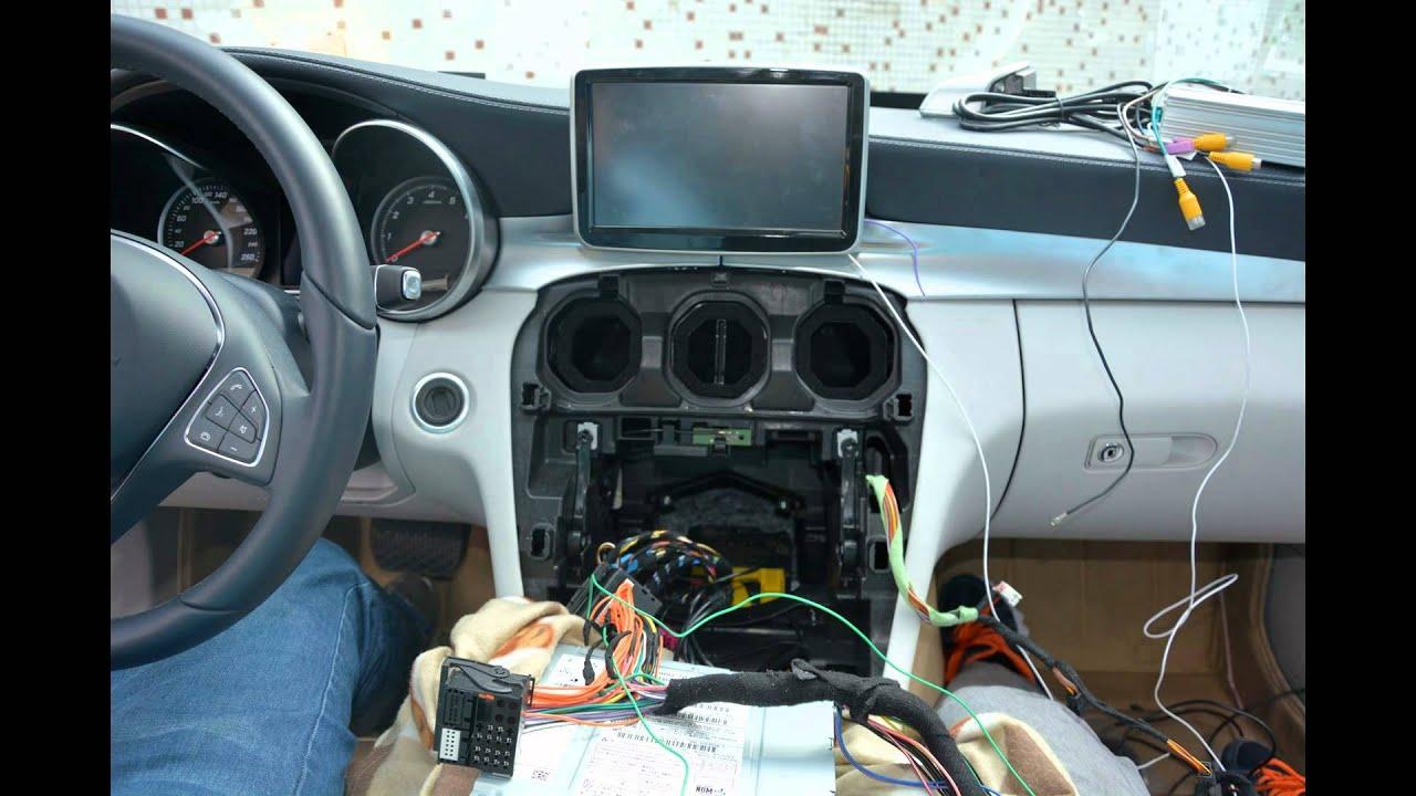 Installation Guide: 2015 MercedesBenz W205 C180 C200 C300 DVD GPS Sat Nav Touch Screen Unit