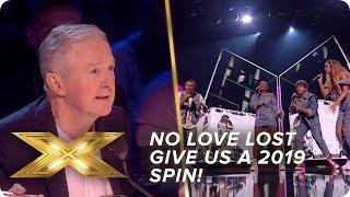 No Love Lost put a 2019 spin on Charles & Eddie   Live Week 2   X Factor: Celebrity