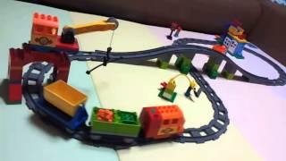 레고 듀플로 디럭스 기차세트 장난감 작동영상 LEGO …