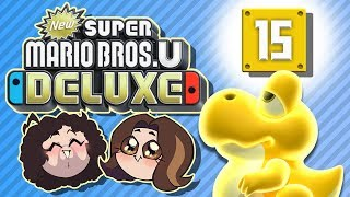 Super Mario Bros U Deluxe: Yoshi, Light Our Way - PART 15 - Game Grumps