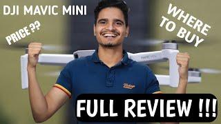 DJI Mavic Mini In India ? Price & Availability ! TECHNO VLOGY