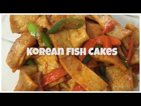 KOREAN FISH CAKES! - ♥ Food-e-licious Video ♥