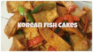 KOREAN FISH CAKES! - ♥ Food-e-licious Video ♥
