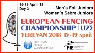 Day 03 2018 European fencing championships U23 - Red
