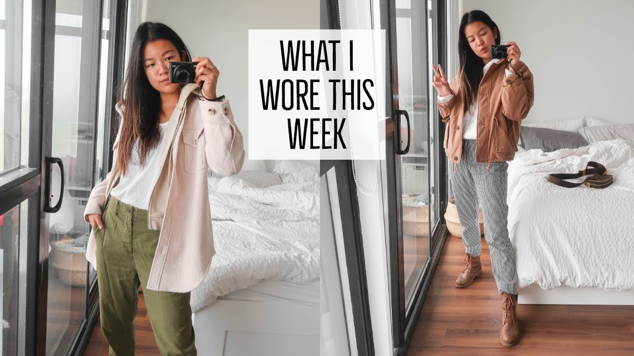 FALL OUTFIT IDEAS || WHAT I WORE THIS WEEK