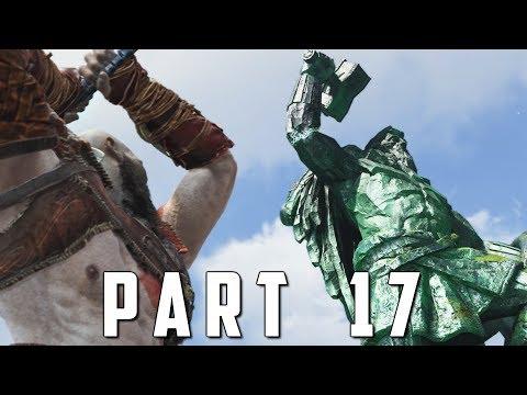 GOD OF WAR Walkthrough Gameplay Part 17 - THOR STATUE (God of War 4)