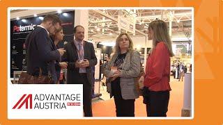 La Oficina Comercial de Austria muestra novedades de fabricantes austriacos en Expobiomasa 2019