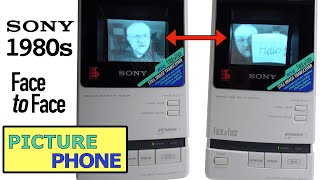 Sony's forgotten '80s Picture Phone