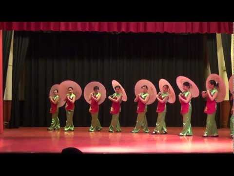 """""""Umbrella Dance"""" IS 228- Chinese Dance Troupe- Directed by S. Zhang"""