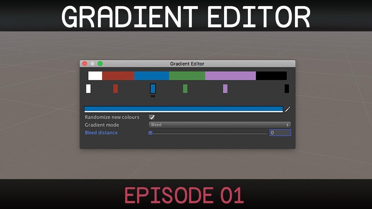 Unity Gradient Editor (1/3)