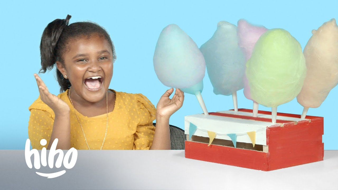 Download Kids Try Crazy Cotton Candy Flavors   Kids Try   HiHo Kids