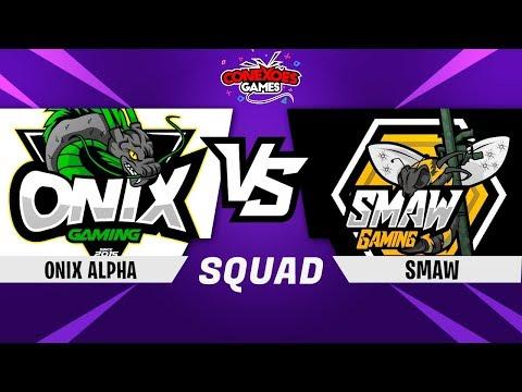 ONIX ALPHA vs SMAW GAMING - TORNEIO SQUAD XBOX - FINAL