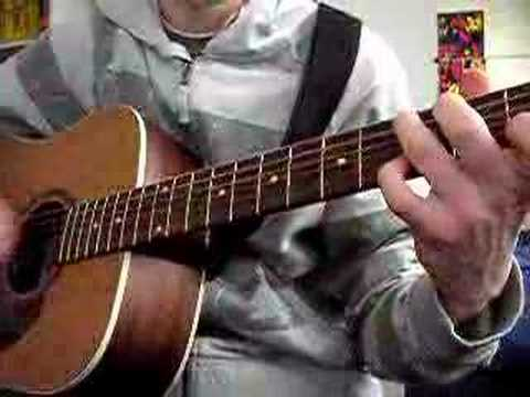 Lord of the Rings Concerning Hobbits on acoustic guitar WITH TABS ...