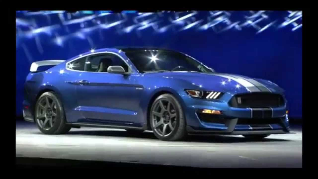 Luxury 2016 SHELBY GT350 R Ford Mustang Unveiled  NAIAS Ford