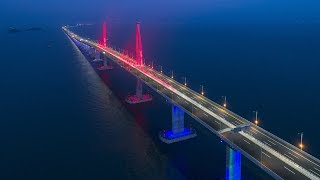 Milestones of the Hong Kong-Zhuhai-Macao Bridge construction
