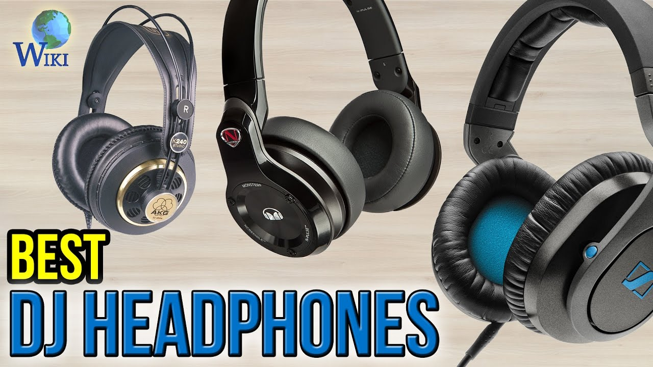 Zip Up Headphones 10 Best Dj Headphones 2017 Youtube