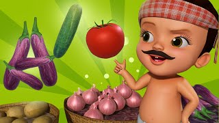 Sabzi Mandi Aao Sabziyaan Le Jao   Hindi Rhymes for Children   Infobells