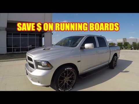 RAM Trucks iBoard Running Board Deal - Boosted Motorsports