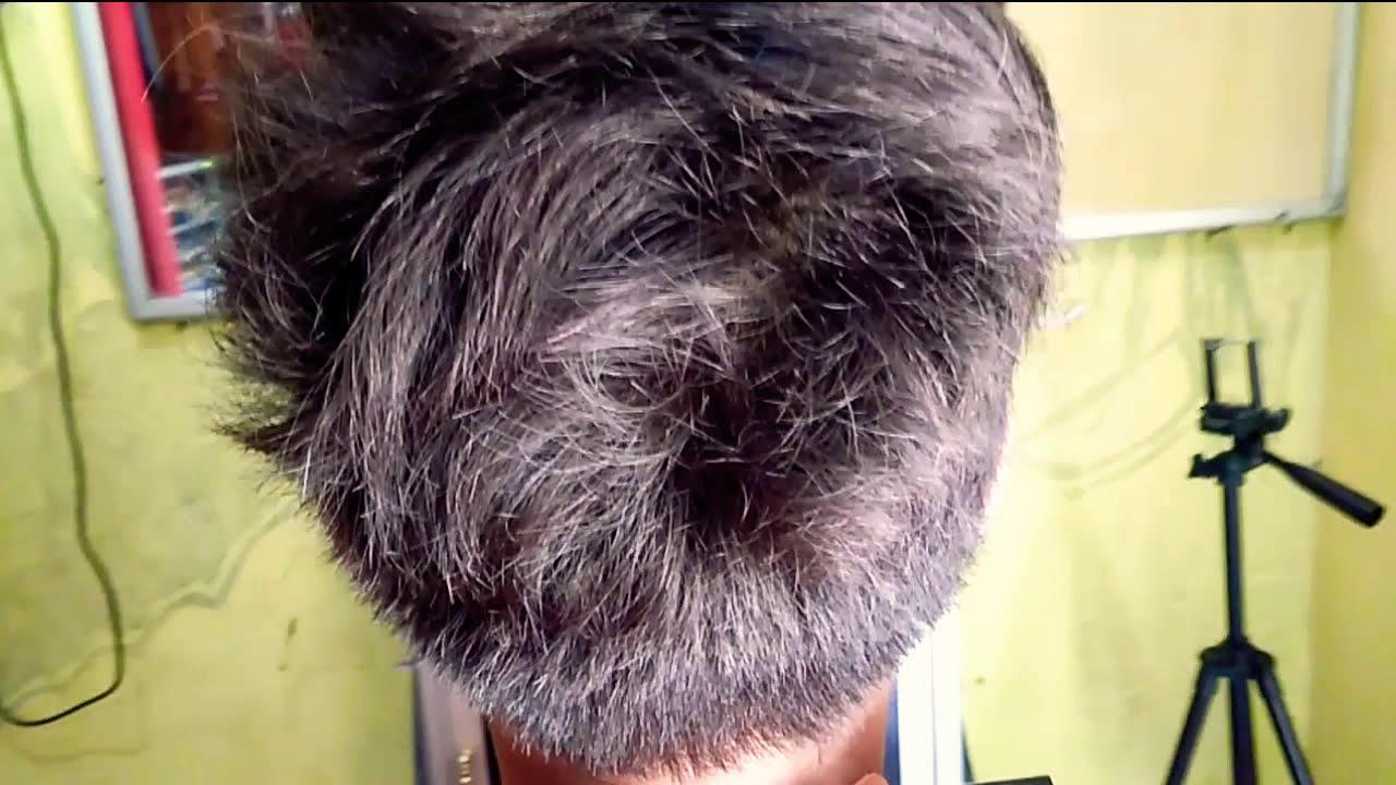 Model rambut kepala besar - YouTube